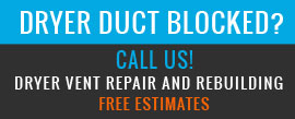 Dryer vent cleaning, residential and commercial services.